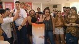 Antes do BBB, Manaus recebe ação com presença do 'Big Fone'