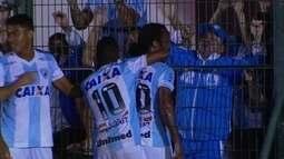 O gol de Figueirense 0 x 1 Londrina pela 1ª rodada da Primeira Liga