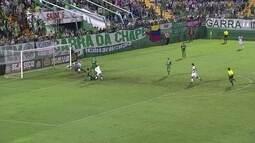 Chapecoense entra em campo para jogo oficial e fica no empate sem gols com o Joinville