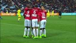 Os gols de Nantes 0 x 2 Nancy pelo campeonato francês