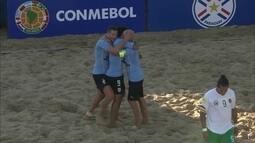 Os gols de Uruguai 11 x 3 Bolívia pelas Eliminatórias da Copa do Mundo de futebol de areia