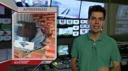 G1 em 1 Minuto Santos: Alfândega e PF apreendem mais de 500 kg de cocaína no Porto