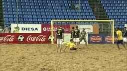 Brasil goleia o Equador pelas Eliminatórias do Mundial de Futebol de Areia