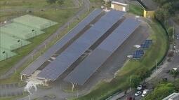Central de geração de energia solar fica pronta em São Paulo