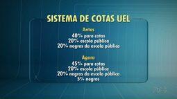 UEL muda sistema de cotas e amplia número de vagas para negros no vestibular