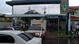 Vigilante reage a tentativa de assalto em cooperativa de crédito em Sinop e mata suspeito