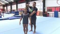 Sete centímetros mais alta, ginasta Flávia Saraiva treina para nova temporada