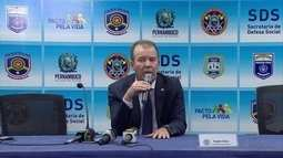 Comandantes da Polícia Civil e Militar de Pernambuco são trocados