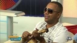 Dudu Nobre mostra sucessos que vai apresentar no pré-carnaval em Goiânia