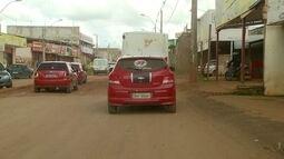 Dois ônibus da empresa que faz transporte no Sol Nascente foram apedrejados