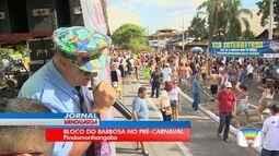 O tradicional Bloco do Barbosa passou pelas ruas de Pindamonhangaba