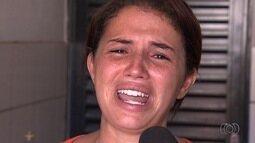 Mãe chora e pede ajuda para achar garota sumida em GO: 'Desesperada'