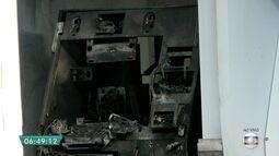 Caixa eletrônico é destruído em agência na Zona Norte de SP
