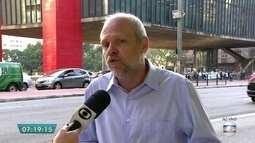 Secretário de Transportes de SP fala sobre caos no trânsito durante blocos de carnaval
