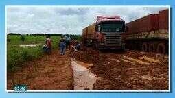 Vinte municípios de MT declararam situação de emergência por causa das chuvas