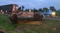 Vítimas de acidente em rodovia de Bebedouro são enterradas em Olímpia