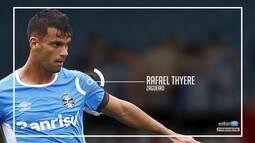 """Azul, Preto e Branco - """"Feito em casa"""" com o zagueiro Rafael Thyere"""