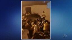 Polícia investiga apedrejamento e brigas após festa de carnaval em Balneário Camboriú