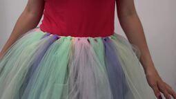 Aprenda passo a passo de saia de bailarina para o carnaval