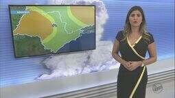 Confira a previsão do tempo para as cidades da região de São Carlos