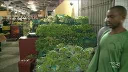 Hortaliças tem alta no preço, no Maranhão