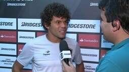 Camilo comenta a classificação do Botafogo. Diz que Gatito está de parabéns