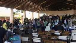 Corpo de Ana Clara é velado na escola onde ela estudava no Residencial Orlando de Morais
