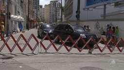 Vias próximas aos circuitos do carnaval são interditadas