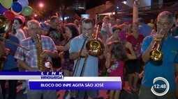 Bloco do Inpe abre carnaval em São José
