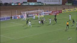 Com gol de Pottker, Ponte Preta empata em jogo contra Linense pelo Campeonato Paulista