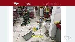 Supermercado é assaltado em Jacaraípe, na Serra, ES