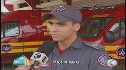 Bombeiro de Patos de Minas alerta sobre cuidados no carnaval