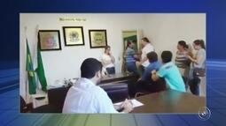 Secretária alega que foi agredida pelo presidente do Legislativo de Tapiraí