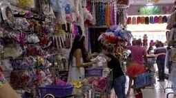 Folião que deixou compras para última hora movimenta o comércio em MS