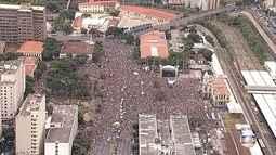 Carnaval em BH é aberto oficialmente na Praça da Estação