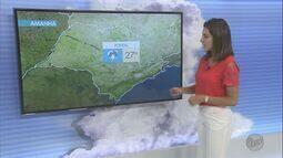 Confira a previsão do tempo para este domingo (26) em Ribeirão Preto e região