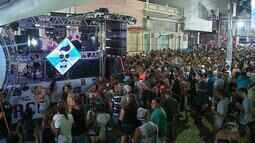 Trios elétricos fazem a alegria do carnaval em Jaguarão no RS