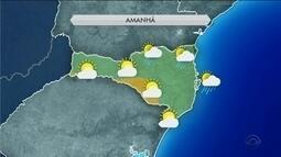 Confira a previsão do tempo para o final de semana