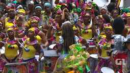 Grupo Didá anima o público com Canto ao Pescador no Campo Grande