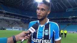 """Lucas Rex sobre o gol na estreia com a camisa do Grêmio: """"Fui abençoado"""""""