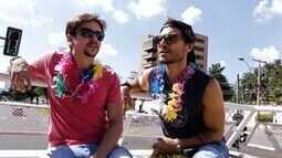 Reveja: Cecília Ribeiro leva Bruninho e Davi para passeio temático de Carnaval