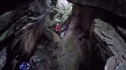 Escarpa devoniana guarda mistérios em cavernas gigantes (parte 1)