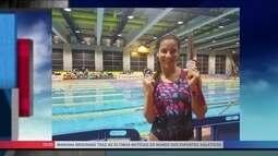 Por conta própria, Joanna Maranhão disputa o Aberto de Madrid e fatura medalhas
