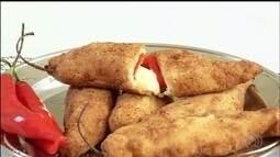 Quadro 'Sabores do Campo' ensina receita de pimenta recheada com queijo