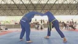Competição de jiu-jítsu leva vários atletas aos Ginásio do Sesi-RR