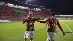 Os gols de Portuguesa 2 x 1 Rio Claro pela série A2 do Campeonato Paulista
