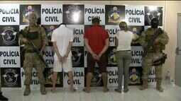 Trio é preso em ação contra tráfico de drogas em Boa Vista