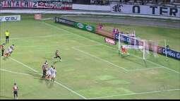 Santa Cruz vence com gol de pênalti e Campinense se classifica em segundo lugar