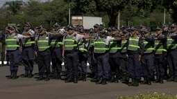 Comando da PM reforça ruas do DF