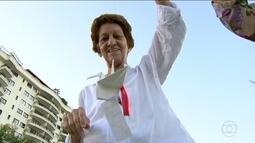 Professoras aposentadas fazem origamis para agradecer a Justiça Federal